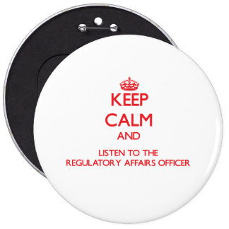 Keep Calm and Listen to the Regulatory Affairs Off Pin
