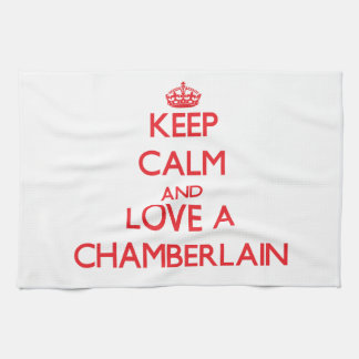 Keep Calm and Love a Chamberlain Kitchen Towel