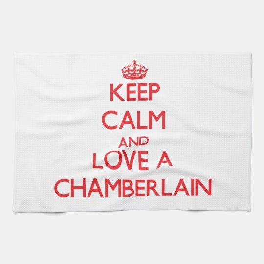 Keep Calm and Love a Chamberlain Kitchen Towel