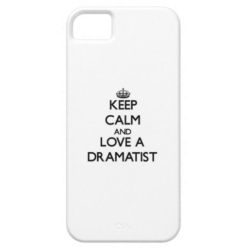 Keep Calm and Love a Dramatist Case For iPhone 5/5S