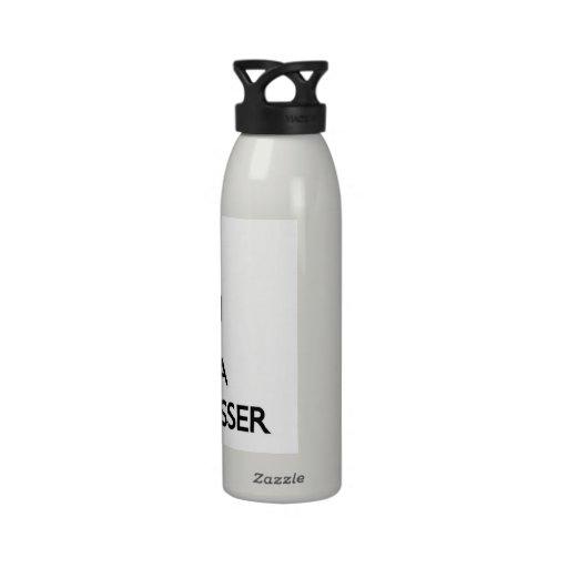 Keep Calm and Love a Hair Dresser Reusable Water Bottle