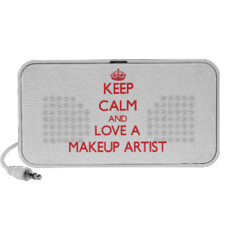 Keep Calm and Love a Makeup Artist Mini Speakers