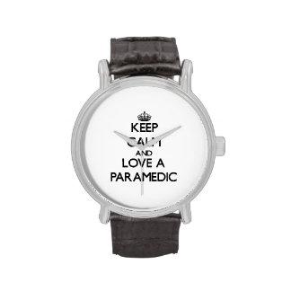 Keep Calm and Love a Paramedic Watch