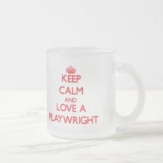 Keep Calm and Love a Playwright Coffee Mug