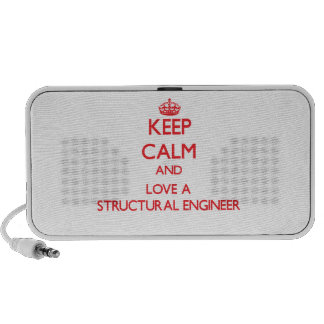 Keep Calm and Love a Structural Engineer Speakers