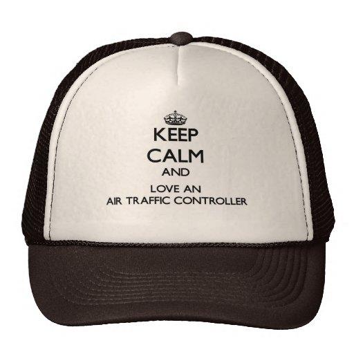 Keep Calm and Love an Air Traffic Controller Hat
