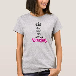 Keep calm and love an Aspergirl T-Shirt