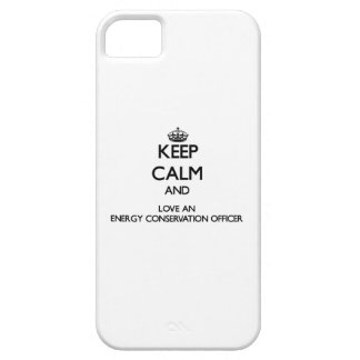 Keep Calm and Love an Energy Conservation Officer iPhone 5 Cover