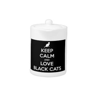 Keep Calm and Love Black Cats