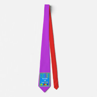 Keep Calm and Love Colors - Art Tie