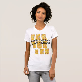 KEEP CALM AND LOVE EMOJIS T-Shirt