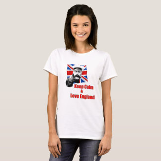 Keep Calm And Love England T-Shirt