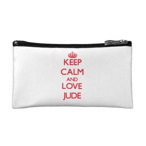 Keep Calm and Love Jude Cosmetic Bag