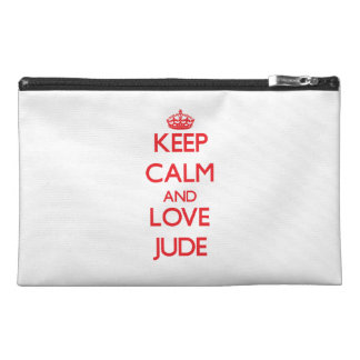 Keep Calm and Love Jude Travel Accessories Bag