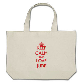 Keep Calm and Love Jude Bags
