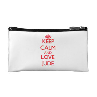 Keep Calm and Love Jude Cosmetic Bag