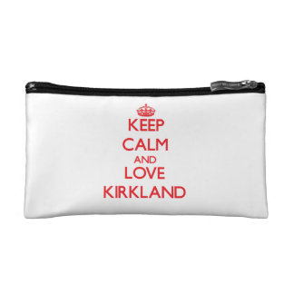 Keep calm and love Kirkland Cosmetic Bags