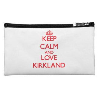 Keep calm and love Kirkland Makeup Bag