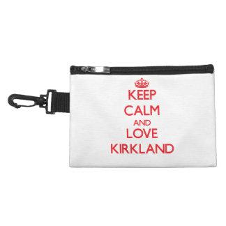 Keep calm and love Kirkland Accessory Bag
