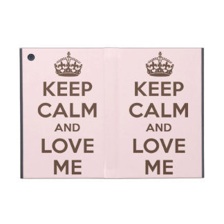 Keep calm and love me covers for iPad mini