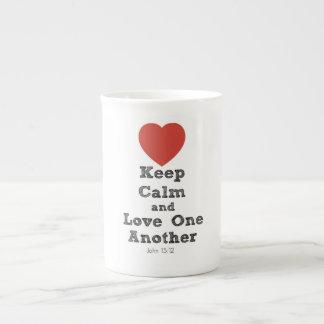 Keep Calm And Love One Another Mug