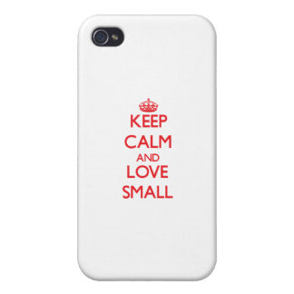 Keep calm and love Small Covers For iPhone 4