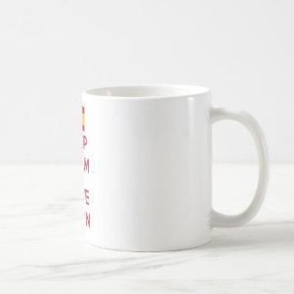 Keep Calm and Love Spain Coffee Mug