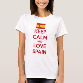 Keep Calm and Love Spain T-Shirt