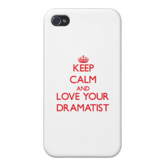 Keep Calm and Love your Dramatist iPhone 4/4S Case
