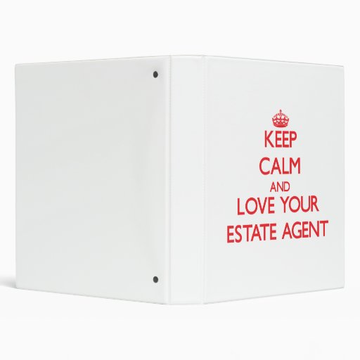 Keep Calm and Love your Estate Agent Binder