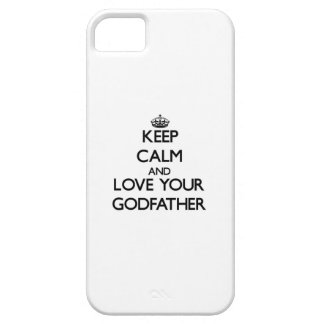 Keep Calm and Love your Godfather iPhone 5 Case