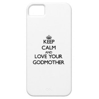 Keep Calm and Love your Godmother iPhone 5 Cover