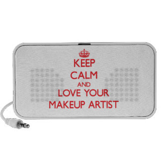 Keep Calm and Love your Makeup Artist Travelling Speaker