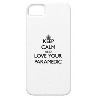 Keep Calm and Love your Paramedic iPhone 5 Case