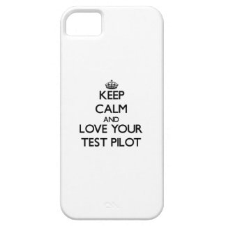 Keep Calm and Love your Test Pilot iPhone 5 Case