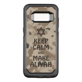 Keep Calm And Make Aliyah - Desert OtterBox Commuter Samsung Galaxy S8 Case