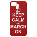 Keep Calm and March On iPhone case iPhone 5 Covers