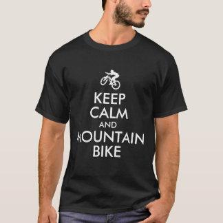 Keep Calm and Mountain Bike T-Shirt