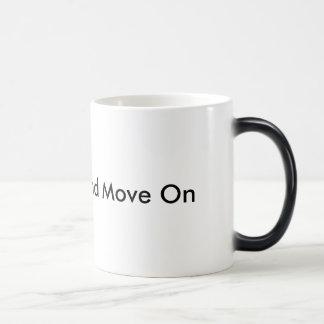 Keep Calm and Move On Mug