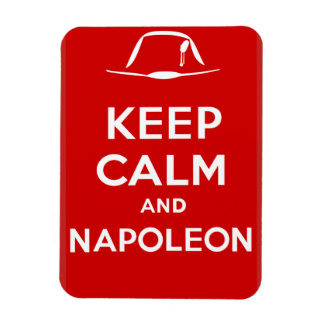 Keep Calm and Napoleon Rectangular Photo Magnet