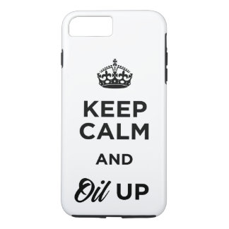 Keep Calm and Oil Up Case-Mate iPhone Case
