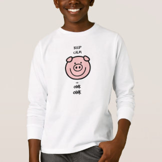 Keep calm and oink, oink! T-Shirt