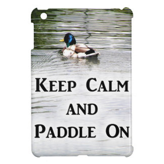 Keep Calm and Paddle On iPad Mini Covers