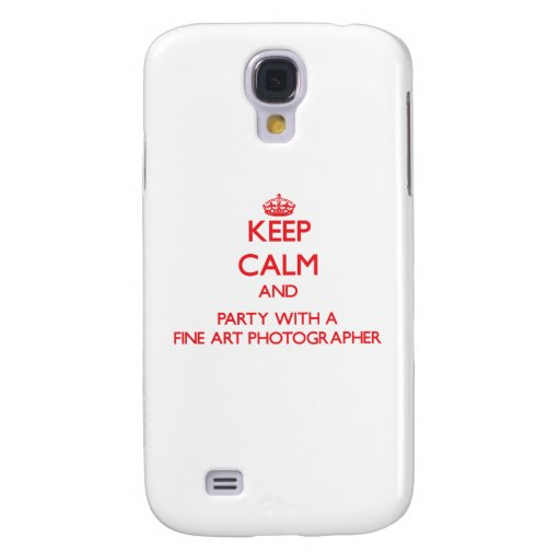 Keep Calm and Party With a Fine Art Photographer HTC Vivid / Raider 4G Case
