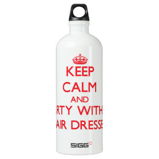 Keep Calm and Party With a Hair Dresser SIGG Traveler 1.0L Water Bottle