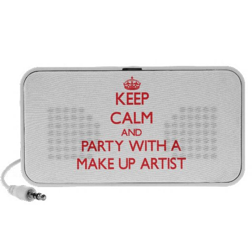 Keep Calm and Party With a Make Up Artist Travel Speakers