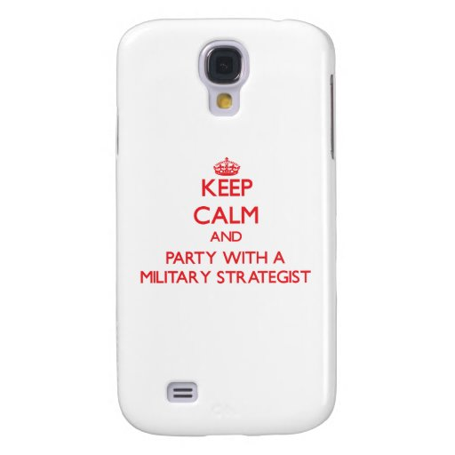 Keep Calm and Party With a Military Strategist HTC Vivid Case