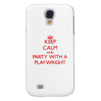 Keep Calm and Party With a Playwright HTC Vivid Cover