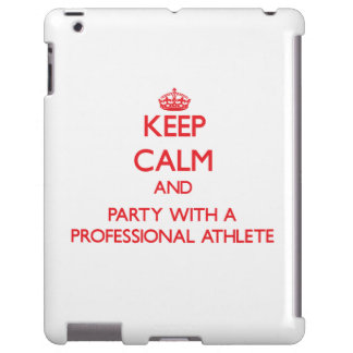 Keep Calm and Party With a Professional Athlete