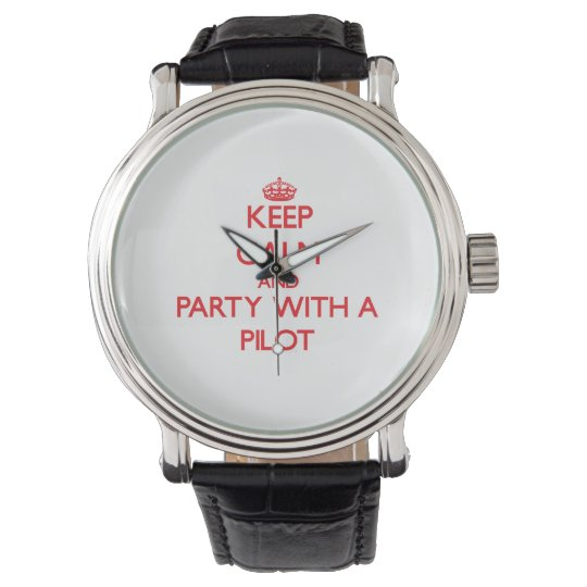 Keep Calm and Party With a Wristwatch